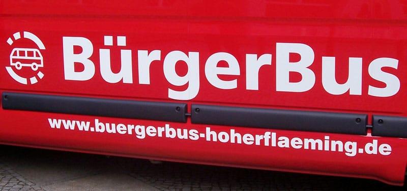 BürgerBus Hoher Fläming sucht Fahrer!