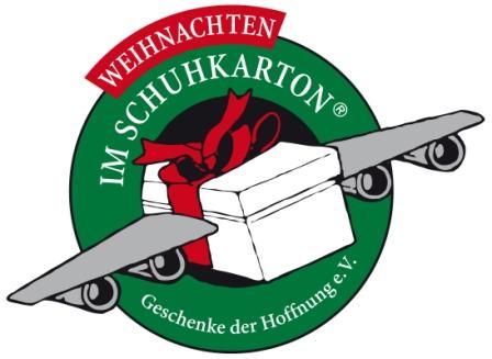 """Aktion """"Weihnachten im Schuhkarton"""""""
