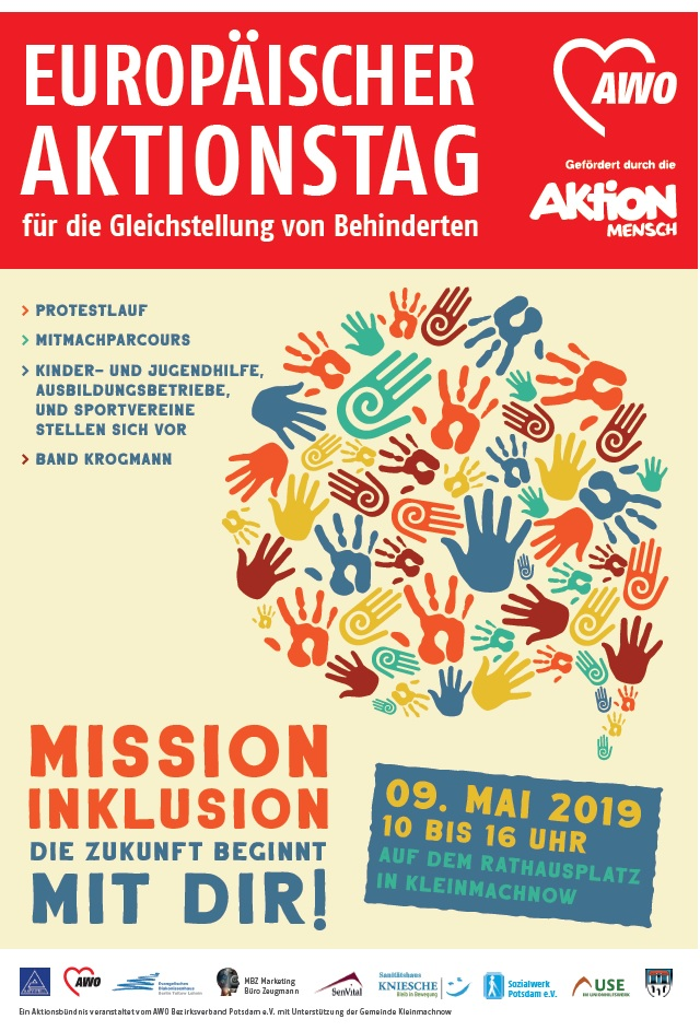 Aktionstag am 9.Mai in Kleinmachnow