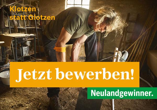 """Neulandgewinner: Programmausschreibung """"WILD ENTSCHLOSSEN"""""""