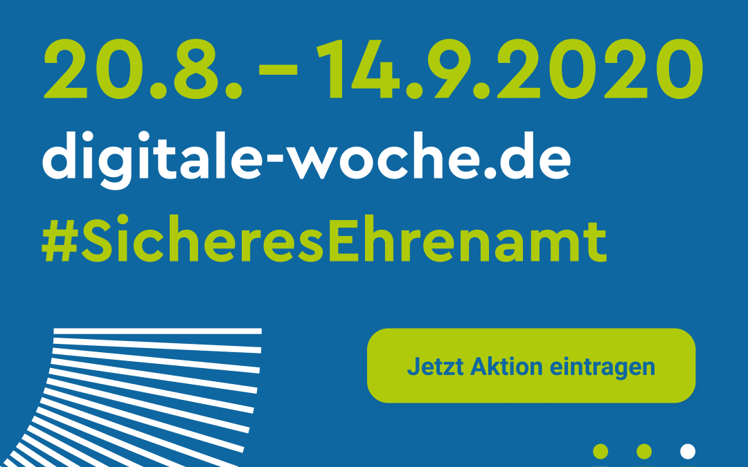 Digitale Woche: Das Festival digitaler Initiativen im Ehrenamt