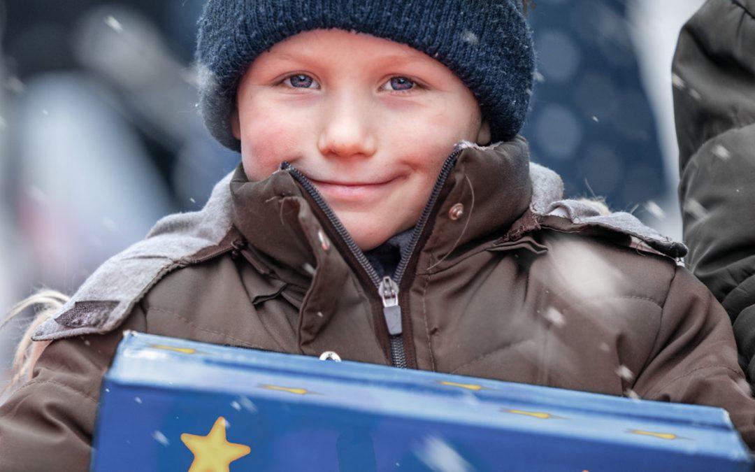 Weihnachtspäckchen für Kinder in Moldawien und Ukraine